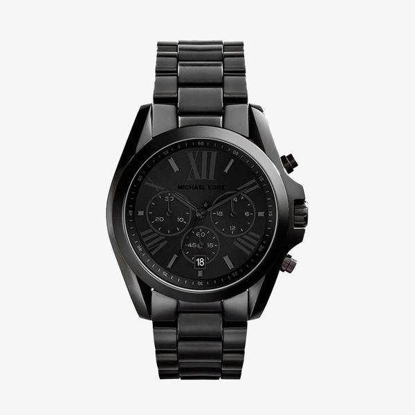 Bradshaw Chronograph Black Dial - Black - MK5550
