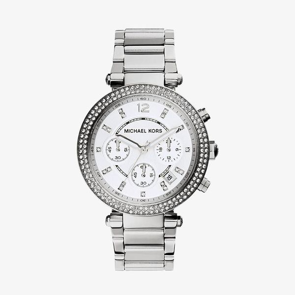 Parker Chronograph Silver Dial - Silver