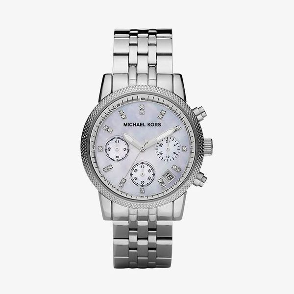 Ritz Chronograph Mother of Pearl Dial - Silver - MK5020