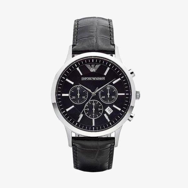 Classic Chronograph Black Dial - Black