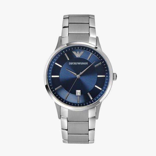 Renato Blue Dial - Silver - AR2477