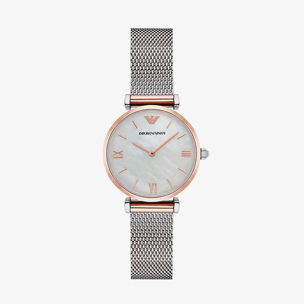 Classic Mother of Pearl Dial- Silver - AR2067