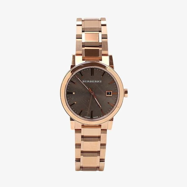 Check Pattern Brown Dial - Rose Gold