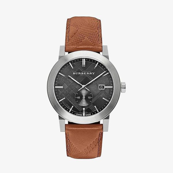 The City Swiss Chronograph - Brown