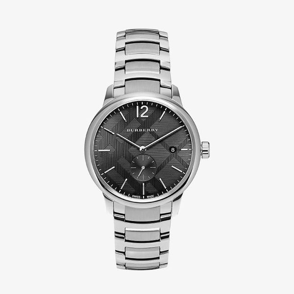 Classic Round Black Dial - Silver