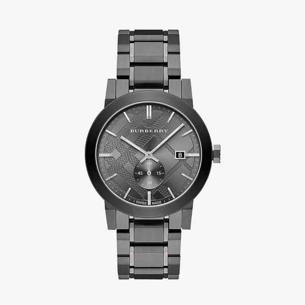 The City Gunmetal Dial - Black - BU9902