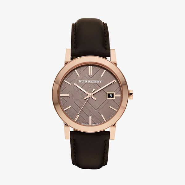 The City Swiss Brown Dial - Brown
