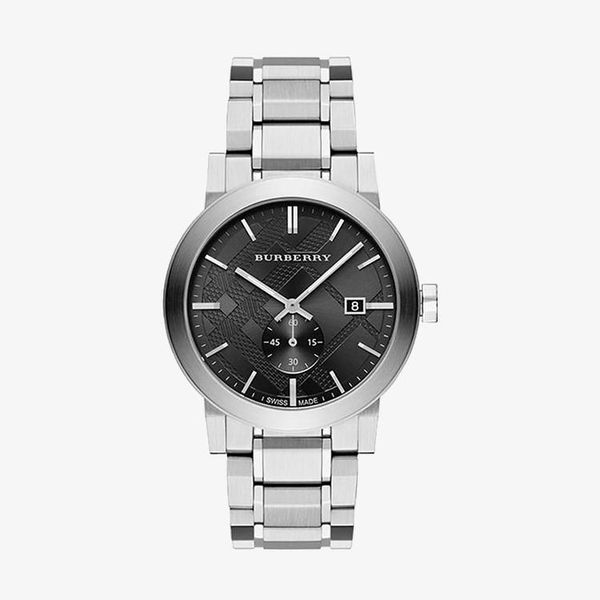 The City Dark Grey Dial - Silver - BU9901