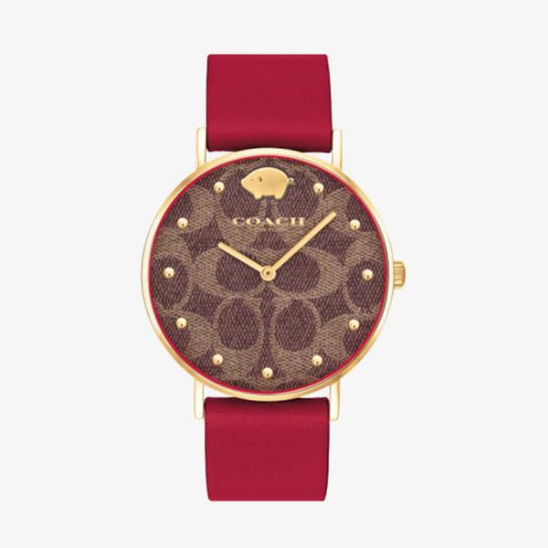 Pig Limited Edition Brown Dial - Red - 14503191