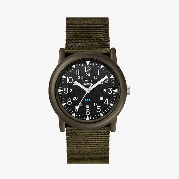 Timex Black Dial - Green - TM-T41711