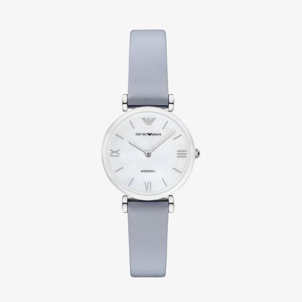 Retro Mother of Pearl Dial - Blue