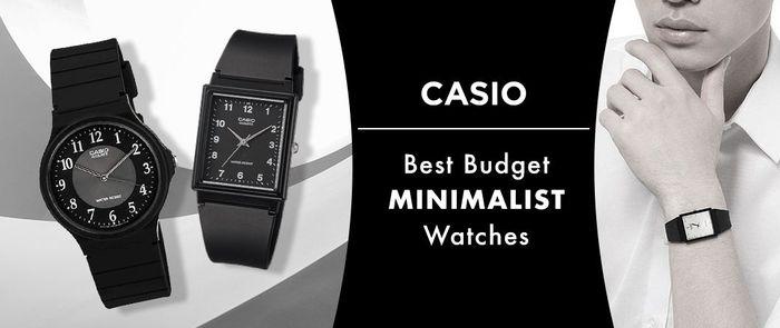 Casio | Best Budget Minimalist Watches