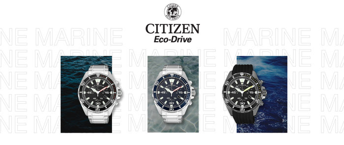 Citizen eco-drive marine