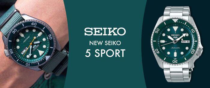 Seiko | NEW SEIKO 5 SPORT
