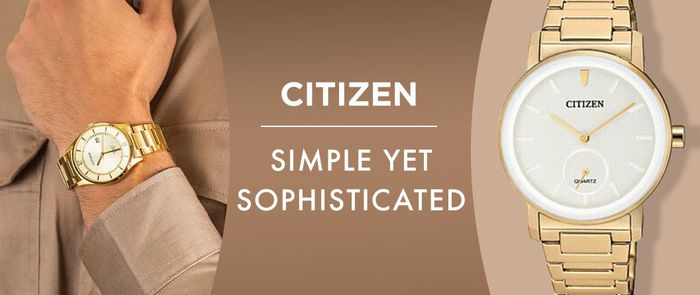 Citizen   เรียบง่ายแต่ดูมีคลาส