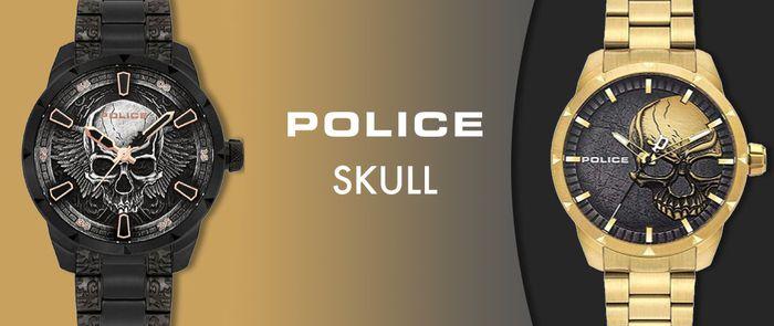 Police | Skull